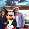 American Idol Newlyweds, Ace Young and Diana DeGarmo, at Disney California Adventure Park for World Premiere of Disney/Jerry Bruckheimer Films' 'The Lone Ranger'