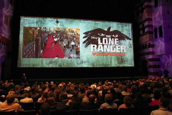 World Premiere of Disney/Jerry Bruckheimer Films' 'The Lone Ranger' Inside the Hyperion Theater