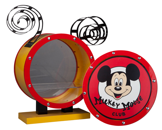 Mickey Mouse Club Drum Prop Which was Previously Displayed at Mickey's of Glendale at Walt Disney Imagineering