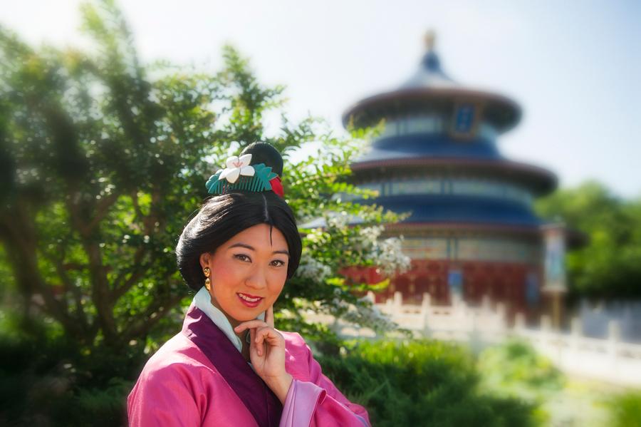 Resultado de imagem para Mulan disney parks