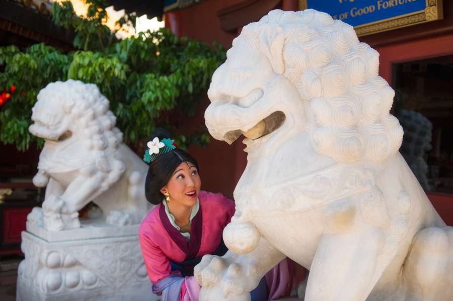 Image result for mulan china pavilion epcot