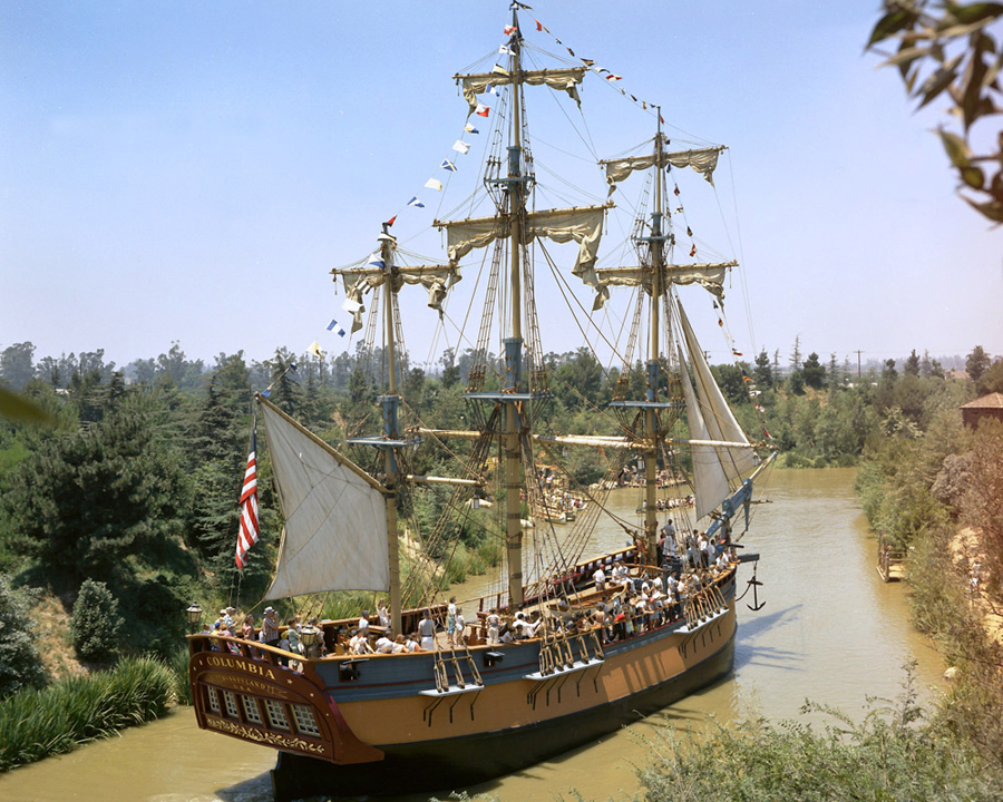 Sailing Ship Columbia at Disneyland Park