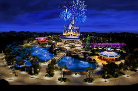 Construction Begins on Shanghai Disneyland Castle