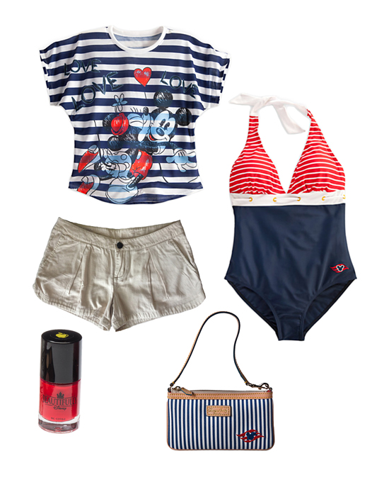 Disney Style Snapshots: Nautical Fun in the Sun