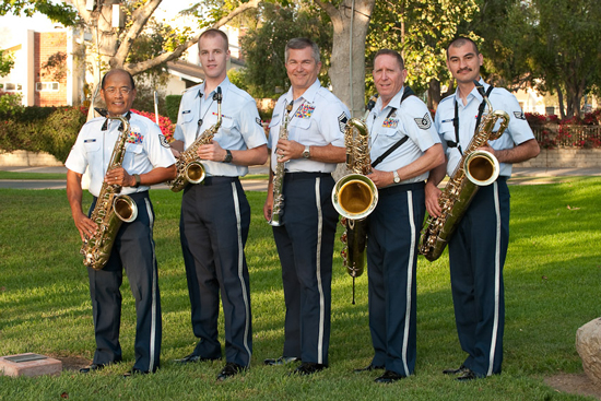 On Tuesday, July 2 The Sax Quintet Golden Tones will Perform in Town Square
