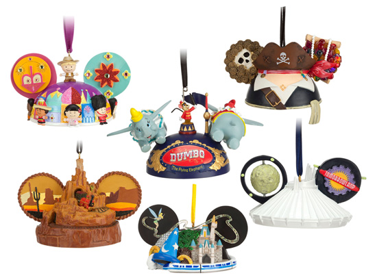 Limited Time Magic Spotlight on New Disney Ear Hat Ornaments at Disney Parks