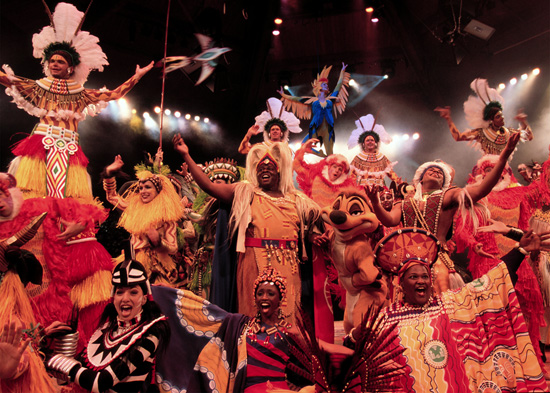 A New Home for 'Festival of the Lion King' at Disney's Animal Kingdom