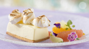 Lemon Meringue Cheesecake at California Grill Disney's Contemporary Resort