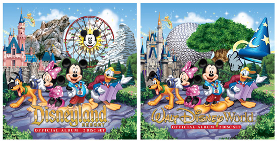 New Official Music Albums Releasing at Disney Parks on August 20, 2013