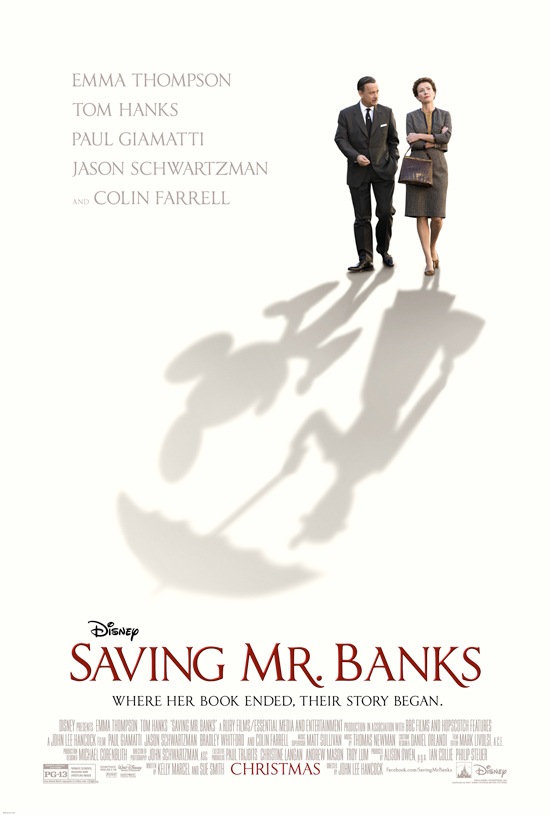 The Official 'Saving Mr. Banks' Poster