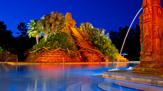 The Dig Site Pool at Disney's Coronado Springs Resort