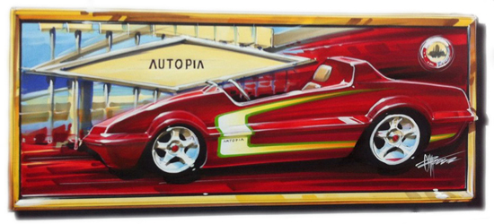 Custom Piece from Chip Foose Added to the List of Silent Auction Lot Available During D23 Expo 2013