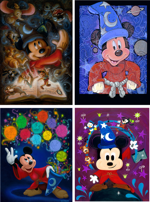 D23 Expo 2013 Dream Store Showcase: Signature Collection with Sorcerer Mickey
