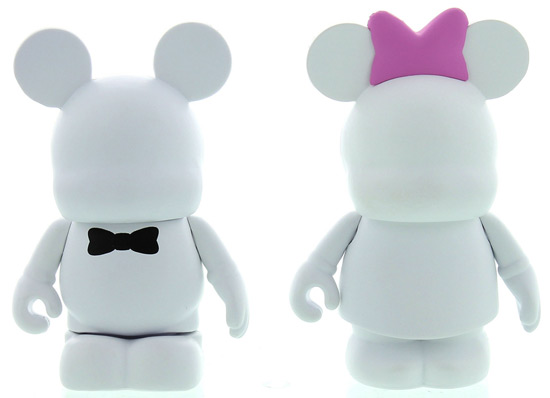 Limited Edition Vinylmations From 'Blank - A Vinylmation Love Story' Available at the D23 Expo Dream Store