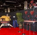 Alice in Wonderland Prop & Oversized Mickey and Minnie Chair, Two of the Silent Auction Lots at the 2013 D23 Expo