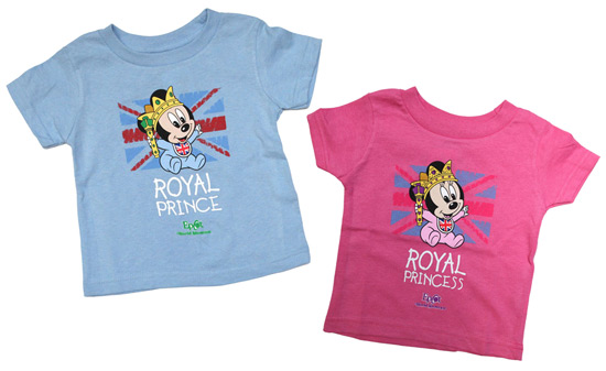 New Infant Apparel Items featuring Baby Mickey and Minnie Mouse at Epcot