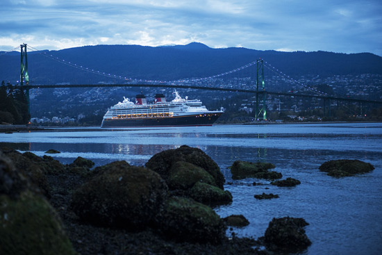 Disney Cruise Line in Vancouver