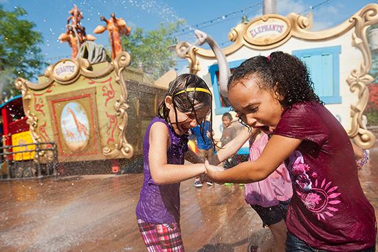 Casey Jr.'s Splash N Soak Station at Magic Kingdom Park
