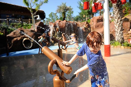Uwanja Camp at Samawati Springs Pool, Disney's Animal Kingdom Villas
