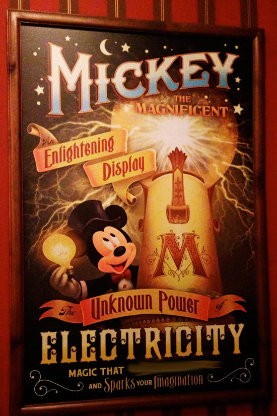 Can You Finish This Disney Parks Sign From Inside Town Square Theater at Magic Kingdom Park?