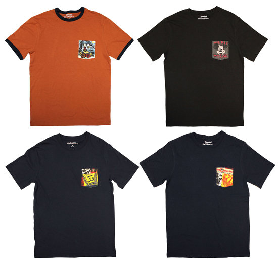 Pocket Tees for Men Coming to Disney Parks This Fall