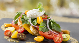 Heirloom Tomato Salad at California Grill at Disney's Contemporary Resort, Debuting September 9
