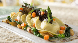 Squash Ravioli at California Grill at Disney's Contemporary Resort, Debuting September 9