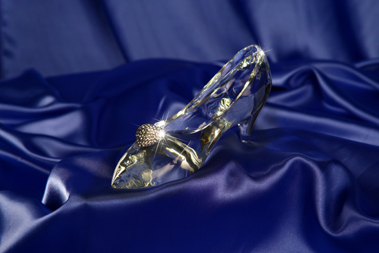 Disney Fairy Tale Glass Slipper