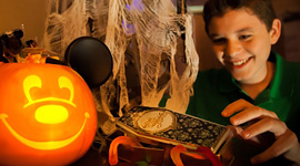 In-Room Halloween Celebrations by Disney Floral & Gifts