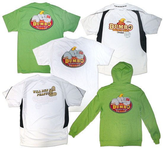 Merchandise for the 'Dumbo Double Dare' at the Disneyland Half Marathon 2013