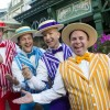 "The Dapper Dans performed boy band hits as part of ""Limited Time Magic."""