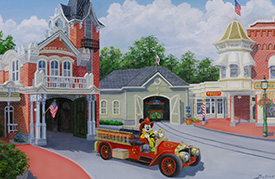 Disney Artwork by Larry Dotson