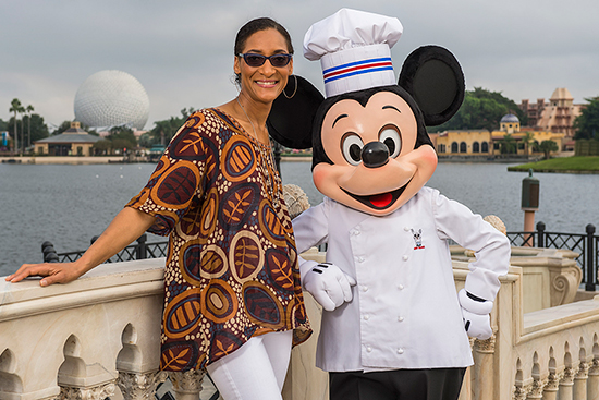 Celebrity Chef Carla Hall Visits Epcot International Food & Wine Festival