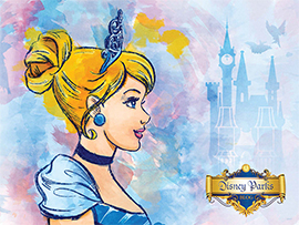 Celebrate Princess Fairytale Hall Grand Opening with Disney Artwork: Cinderella