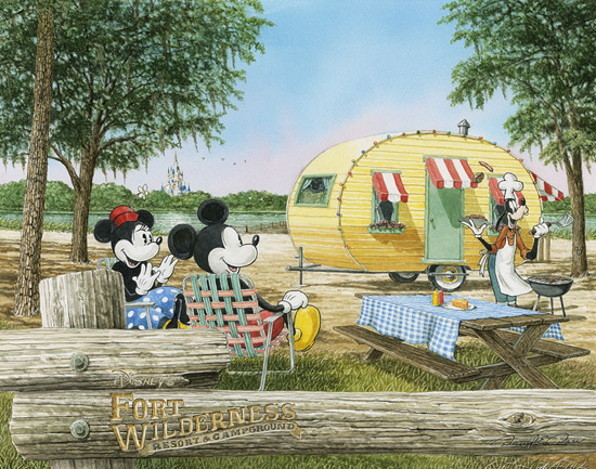 Fun at Fort Wilderness by David E. Doss