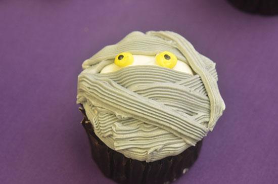 Chocolate Mummy Cupcake at Main Street Bakery