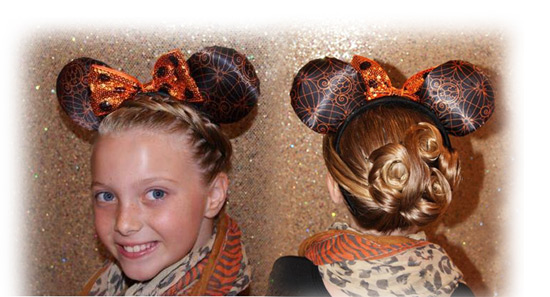 Sassy Look for Halloween Time at the Disneyland Resort