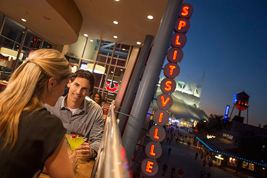 Splitsville at Downtown Disney
