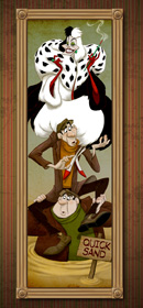 Cruella De Vil Takes on a Famous Role in The Haunted Mansion