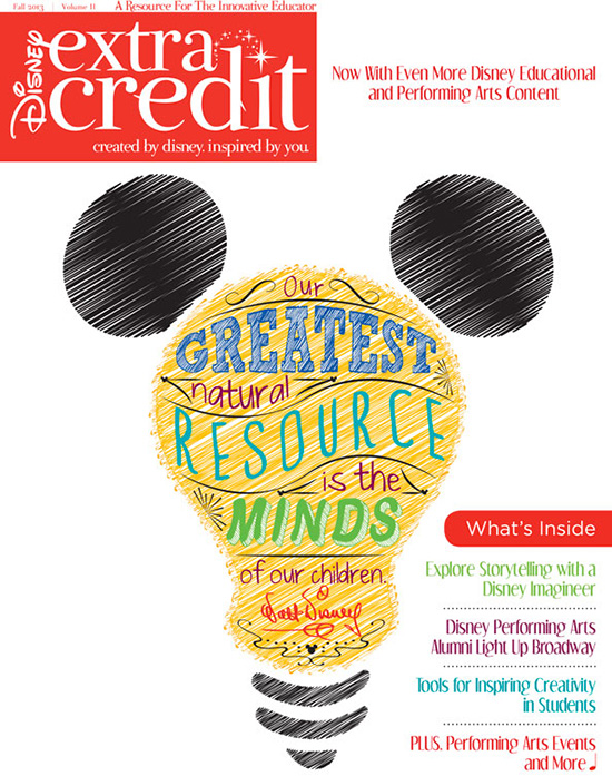The Latest Edition of Disney Extra Credit Magazine is Here