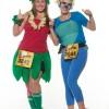 Twilight Zone Tower of Terror 10-Miler Runners in Race Costumes at Walt Disney World Resort