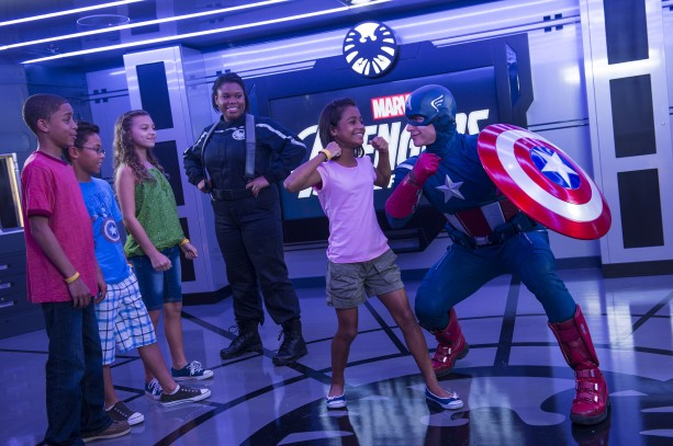 Avenger's Academy, Aboard the Disney Magic Cruise Ship
