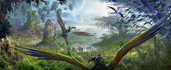 Guests Will Discover What it Feels Like to Soar into the Sky Riding a Banshee When AVATAR Comes to Disney's Animal Kingdom at Walt Disney World Resort