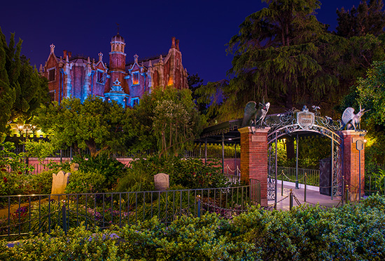 Haunted Mansion at Tokyo Disneyland Park