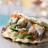 Lamb Meatball Flatbread