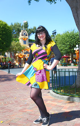 Main Street Style at Disney Parks: Sally