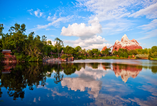 Expedition Everest Attraction at Disney's Animal Kingdom Park at Walt Disney World Resort