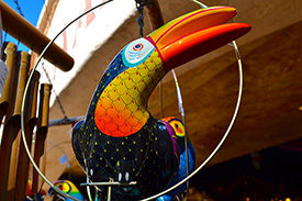Adventureland Bird in Adventureland Bazaar at Disneyland Park