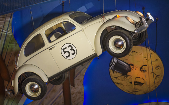 Herbie,  a 1963 Volkswagen Beetle deluxe ragtop sedan, starred in several popular Disney films, starting with 'The Love Bug' in 1969.