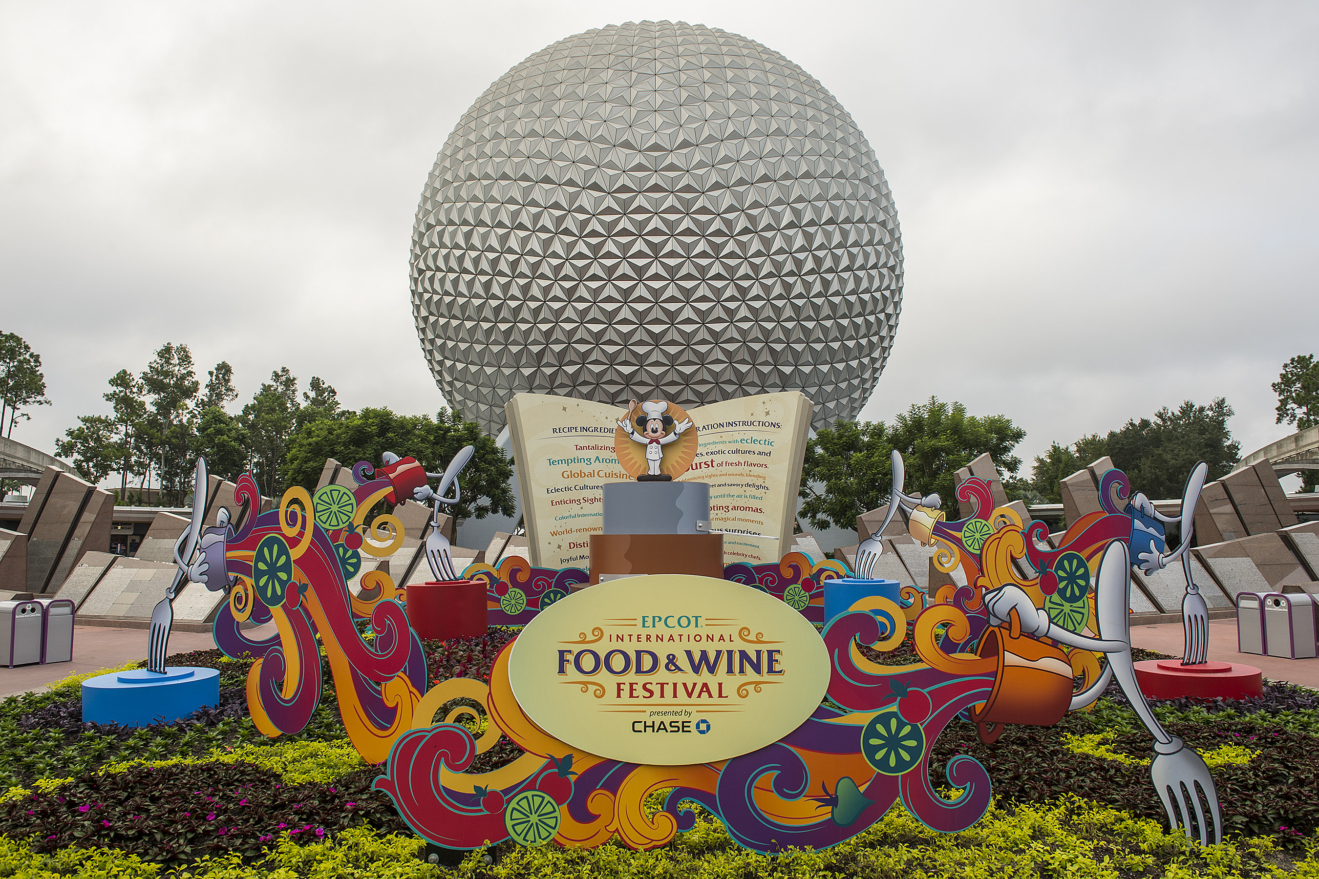 Food Wine Epcot